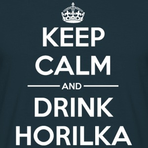 Drinks Keep calm Horilka Hoodies & Sweatshirts - Men's T-Shirt