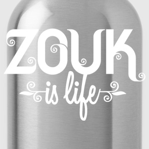 Zouk is life T-shirts - Drinkfles