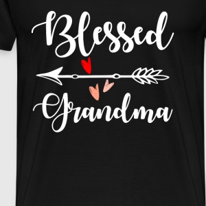 Blessed Grandma Tops - Men's Premium T-Shirt