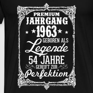 54-1963-legend - perfection - 2017 - DE Tops - Men's Premium T-Shirt