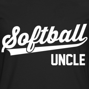 Softball Uncle T-Shirts - Männer Premium Langarmshirt