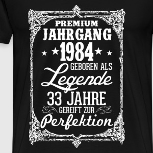 33-1984 legend - perfection - 2017 - DE Tops - Men's Premium T-Shirt