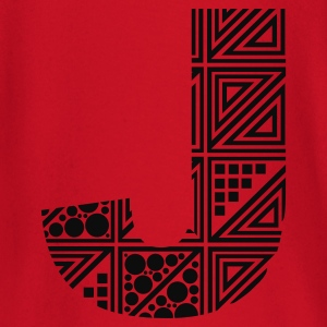 Rood letter J Kinder sweaters - T-shirt