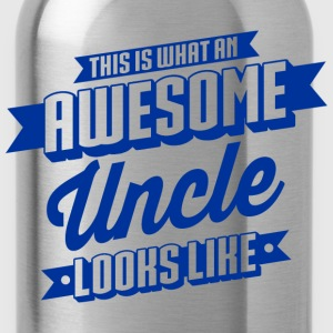 Awesome Uncle Looks Like T-Shirts - Trinkflasche