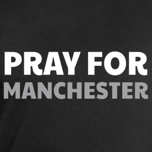 Pray for Manchester, T-Shirts - Men's Sweatshirt by Stanley & Stella