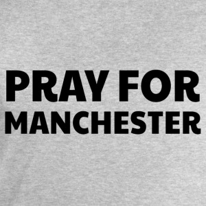 Pray for Manchester T-Shirts - Men's Sweatshirt by Stanley & Stella