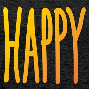 Happy  - Männer Premium T-Shirt