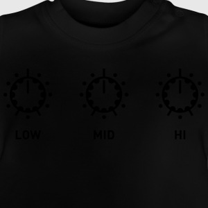 Potentiometrar DJ Mixer potentiometer ligger Club T-shirts - Baby-T-shirt
