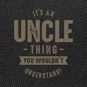 It's a Uncle Thing - Snapback Cap
