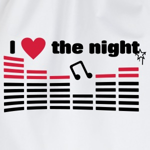 I love the night - Sac de sport léger