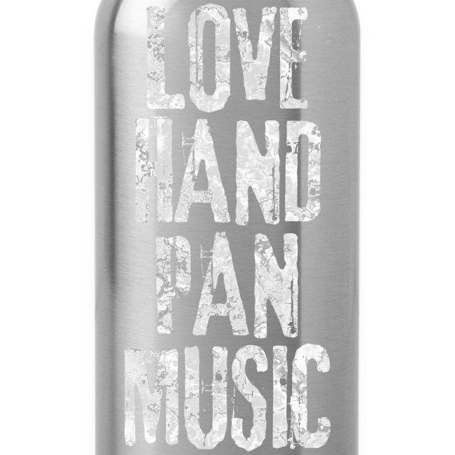 LOVE HANDPAN MUSIC - fractal white