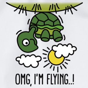 OMG, I'm flying! T-shirts - Sportstaske