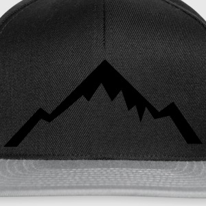 Mountain, Hiking, Outdoor Tee shirts - Casquette snapback