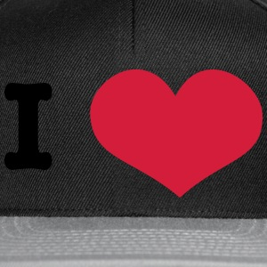 I Love ... (insert own text) T-Shirts - Snapback Cap