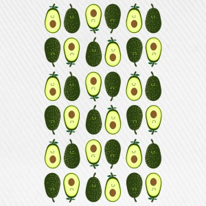 avocado pattern Long Sleeve Shirts - Baseball Cap