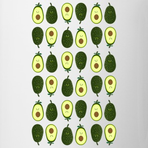 avocado pattern Long sleeve shirts - Mug