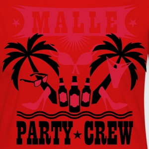 15 Malle Party Crew Palmen Sex Beer Bier T-Shirt - Frauen Premium Langarmshirt