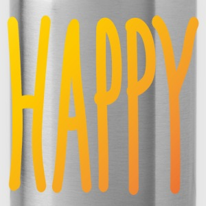 Happy - Water Bottle