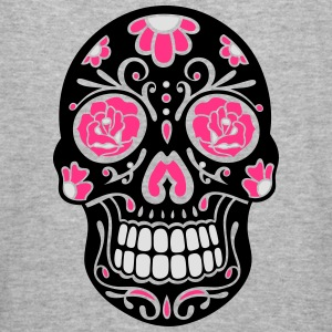 Traditional Mexican sugar skull, day of the dead. Hoodies & Sweatshirts - Men's Slim Fit T-Shirt