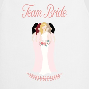 team_bride__blond_had_beautiful Buttons - Cooking Apron