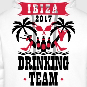 Ibiza 2017 Drinking Team Palm Beach Sex Beer T-Shi - Männer Premium Hoodie