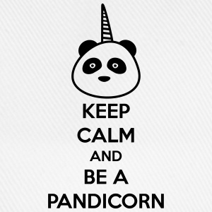 Keep calm and be a pandicorn,panda,licorne - Casquette classique