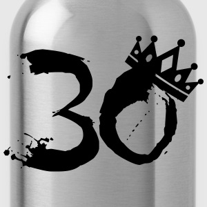 30 Birthday T-Shirts - Trinkflasche