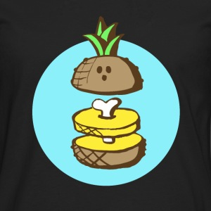 Ananas to the bone T-Shirts - Men's Premium Longsleeve Shirt