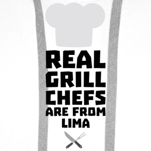 Real Grill Chefs are from Lima S0o19 Long Sleeve Shirts - Men's Premium Hoodie