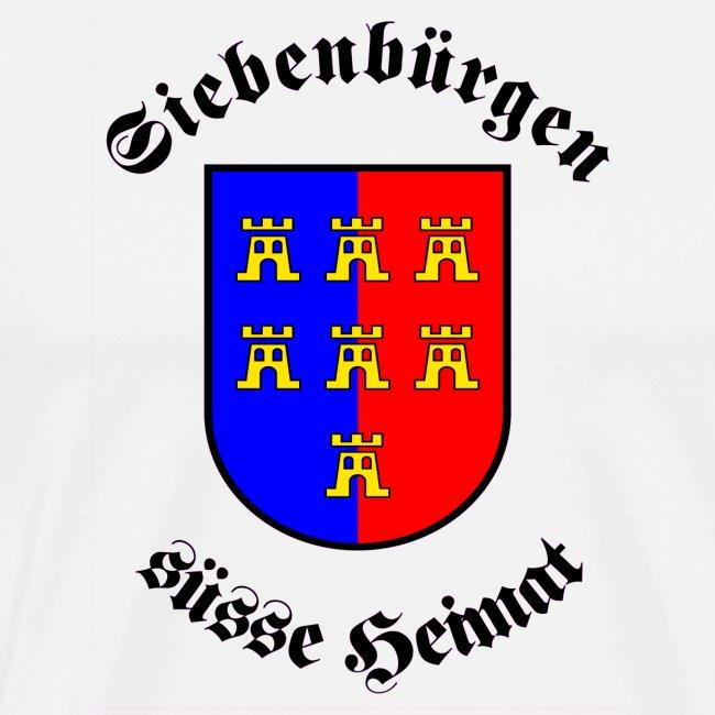 """Tasse """"Siebenbürgen süße Heimat"""" mit Sachsenwappen"""