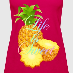 Life is Sweet T-Shirts - Women's Premium Tank Top