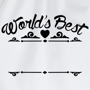 Word's best (dein Text / your Text) Sportbekleidung - Turnbeutel