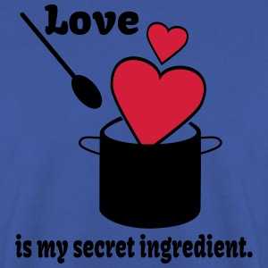 Love Cooking Saying  Aprons - Men's Sweatshirt