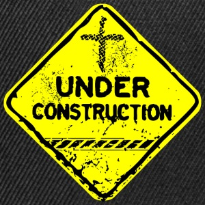 under construction church fr Tee shirts - Casquette snapback