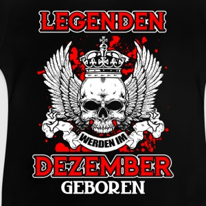 December - legend - birthday - DE Shirts - Baby T-Shirt