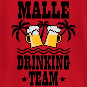 08 Malle Drinking Team Beer Mass Bier Party T-Shir - Baby Langarmshirt