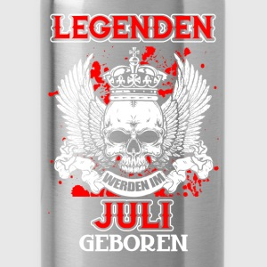 July - legend - birthday - DE Shirts - Water Bottle