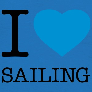 I LOVE SAILING - T-shirt Homme
