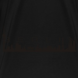 BERLIN SKYLINE Retrobag - Männer Premium T-Shirt
