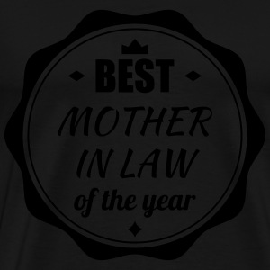 Mother in law / Schwiegermutter / Belle Mère  Aprons - Men's Premium T-Shirt