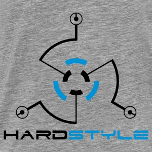 Hardstyle Tech 2 Rave Quote Tröjor - Premium-T-shirt herr
