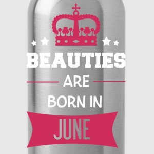 Beauties are born in June T-shirts - Vattenflaska