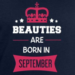 Beauties are born in September Long Sleeve Shirts - Men's Sweatshirt by Stanley & Stella