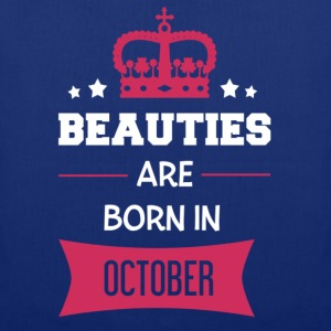Beauties are born in October T-Shirts - Tote Bag