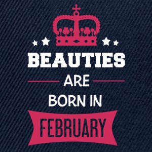 Beauties are born in February T-Shirts - Snapback Cap