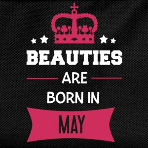 Beauties are born in May Shirts met lange mouwen - Rugzak voor kinderen