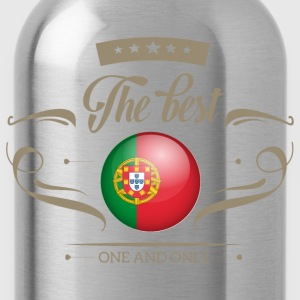 The Best Portugal T-Shirts - Trinkflasche