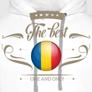 The Best Rumänien - Romania T-Shirts - Männer Premium Hoodie