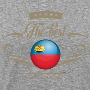 The Best Liechtenstein Langarmshirts - Männer Premium T-Shirt