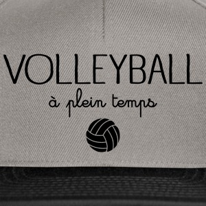 Volleyball A Plein Temps Tee shirts - Casquette snapback